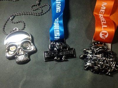 【收藏。馬拉松獎牌】低價起標/馬拉松完賽紀念牌三款一組