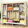 折疊衣櫥衣柜收納組裝簡易布衣柜布藝經濟型...