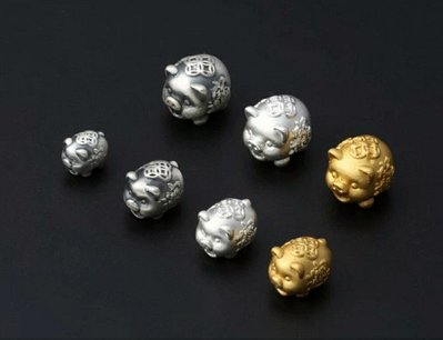 嗨,寶貝銀飾珠寶* 925純銀飾品☆9...