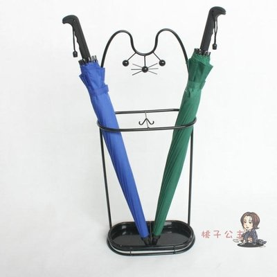 傘架 創意雨傘架家用鐵藝傘筒雨傘桶收納桶落地式折疊放傘架子T