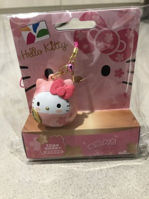 《現貨》達摩 Kitty3D 造型悠遊卡 櫻花限定版 戀愛大吉