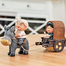 〖洋碼頭〗小夫妻創意裝飾品人物擺件 家居工藝品樹脂擺設結婚房佈置禮物品 ybj141