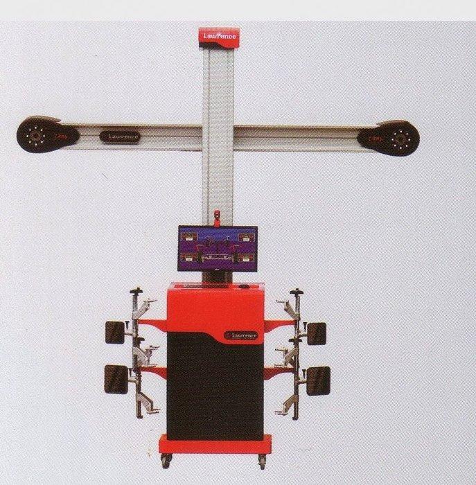 【鎮達】汽車維修設備 ~ 美國勞倫斯 3D 四輪定位儀  LS-6
