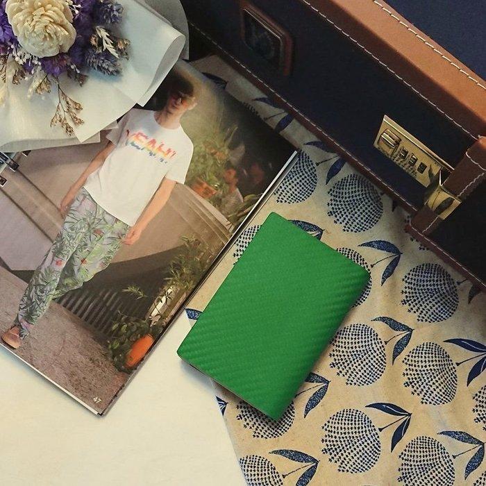 dunhill時尚綠名片夾  短夾  皮夾