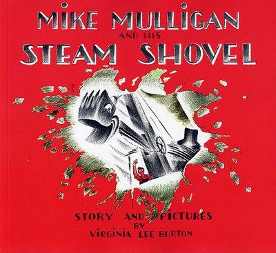 *小貝比的家*MIKE MULLIGAN AND HIS STEAM SHOVEL/平裝書+CD [汪培珽英文]7~12
