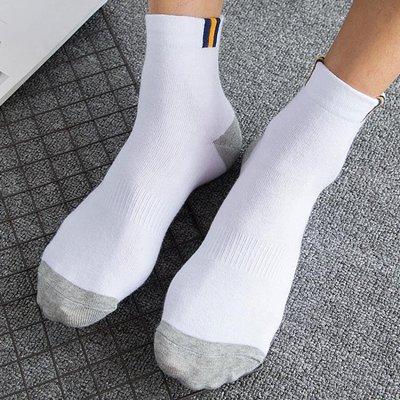 襪子男中筒純棉長襪防臭棉襪男士四季短襪夏 季長筒吸汗棉質男襪