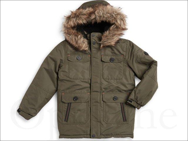 真品 Michael Kors MK 男孩14 16歲身高約160公分中長版防風衣雪衣大衣連身帽外套保暖愛COACH包包