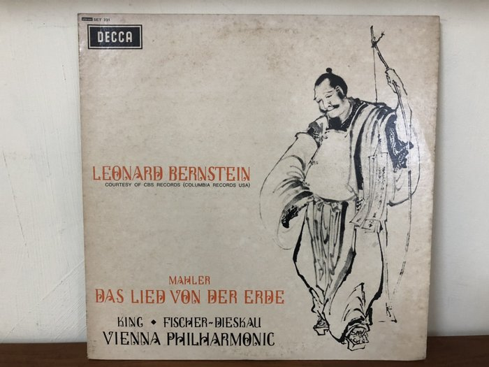華聲唱片-DECCA黑膠LP/LEONARD BERNSTEIN-COURTESY OF CBS RECORDS