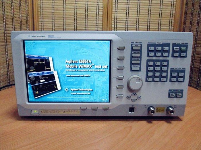 康榮科技二手儀器領導廠商Agilent E6651A Opt:506,6M1 Mobile WiMAX Test Set