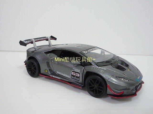 原廠授權-Lamborghini藍寶堅尼huracan LP620-2 super trofeo賽車版合金車