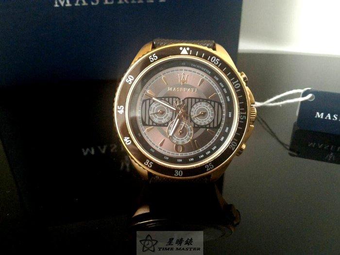 請支持正貨,瑪莎拉蒂手錶MASERATI手錶STILE款,編號:MA00020,咖啡色錶面咖啡色皮革錶帶款