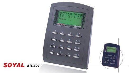 【101通訊館】茂旭 SOYAL AR-727mifare 顯示型讀卡機裝到好( 監視器 陽極鎖 磁力鎖 門禁)