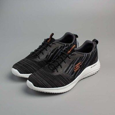 Skechers斯凱奇新款男鞋橡筋一脚套運動鞋舒適低幫休閒鞋52504