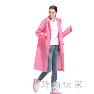 雨衣女成人韓版時尚雨披外套加大加厚套裝 ZB305