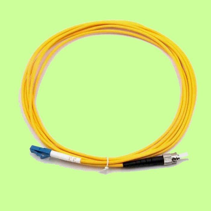 5Cgo【權宇】3米3M LC/ST單模雙芯一對 光纖跳線 (尾纖) 電信級 的標為五對裝 加購光纖收發器另有特價 含稅