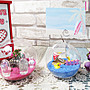 ☆[Hankaro]☆ 玻璃DIY裝飾造景彩沙擺飾(鴨...