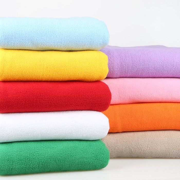 雜貨小鋪 搖粒絨布料 加厚抓絨短毛絨diy玩偶服裝面料白色加絨 珊瑚絨布料