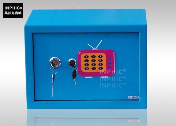 INPHIC-防盜保險箱家用 小型保險櫃迷你入牆全鋼保管箱_S01900C