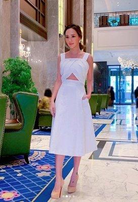 [我是寶琪] 關穎二手商品 米白色洋裝...