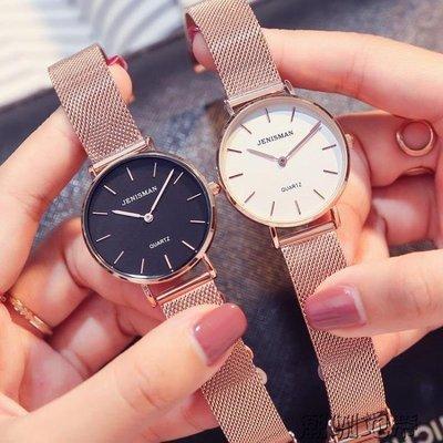 YEAHSHOP 防水超薄手錶時尚簡約潮流新款休閒小錶盤女士石英錶97965Y185