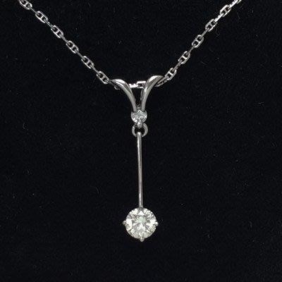 順利當舖  0.51ct 時尚造型設計淑女鑽石墜子