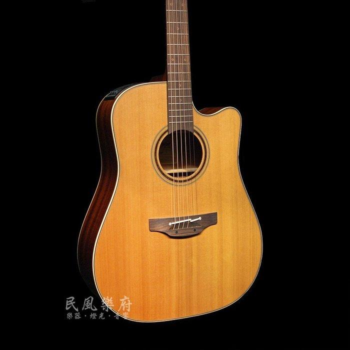 《民風樂府》Takamine P3DC 日本廠手工製作 雪松單板 電木缺角民謠吉他 專業拾音系統 可無息分期 全新到貨