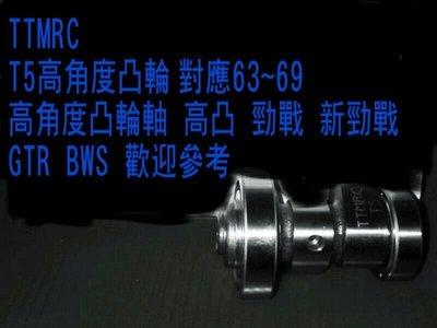TTMRC 勁戰 BWS GTR125 改裝用T5高凸( 對應63~69 高角度凸輪軸 ) 台南市