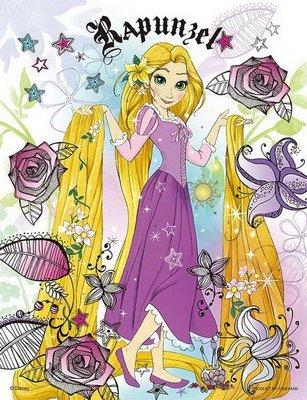 日本進口拼圖專賣店_迪士尼 300片 迷你小切片 魔髮奇緣 Tangled 塔上希望 長髮公主 42-22
