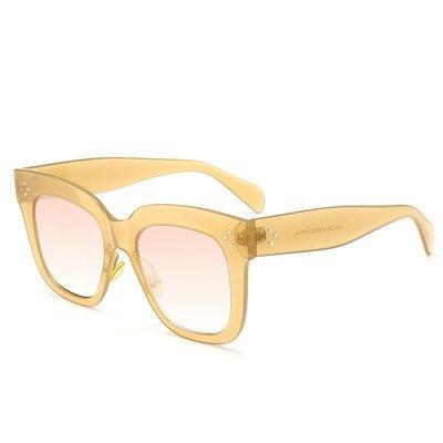 [馳騁]2001現貨7-11全家快速到貨韓國韓版鏡框墨鏡太陽眼鏡鏡框歐美大牌米盯太陽鏡 高檔女士墨鏡經典百搭 復古潮流太