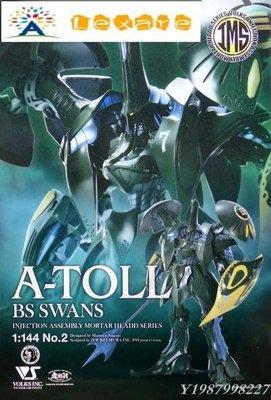 ❀Lexare❀VOLKS 造型村 五星物語 No.2 1/144 A-TOLL BS SWANS 眼鏡蛇