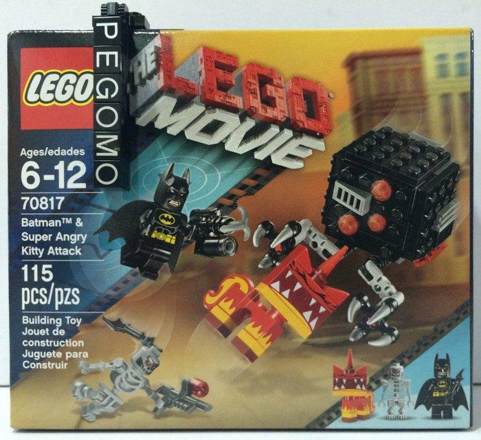 【痞哥毛】LEGO 樂高 樂高電影系列 70817 蝙蝠俠 生氣貓 現貨最後一盒