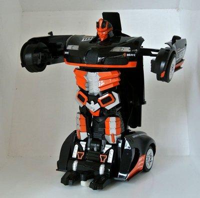 ☆優達團購☆2.4G遙控變形機器人 橙色 TT663 飄移戰神 遙控車 變形金鋼 機器人變汽車 充電式 8入4650元 台南市