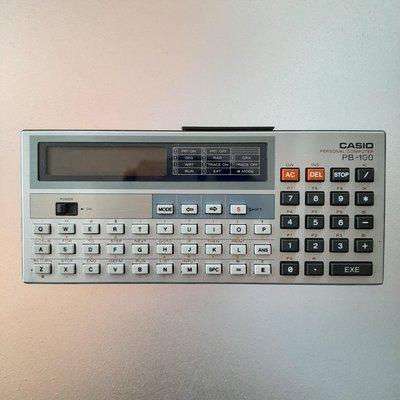 【MarsC】卡西歐CASIO PB-100電子計算機-1982年出品-日本製