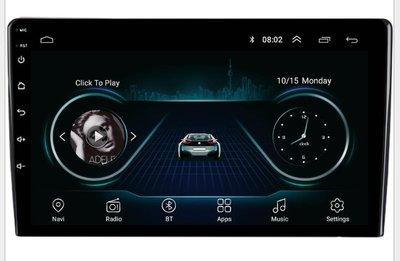10吋 安卓智能聲控車機 1+16G PLAY商店 導航王 多視角IPS 2.5D鋼化螢幕