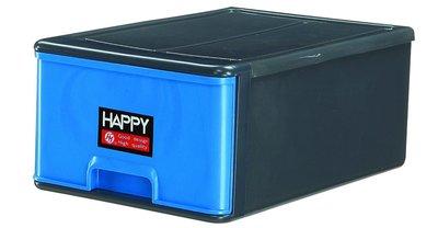 《上禾屋》Happy單層抽屜整理箱1010-A/抽屜櫃/收納箱/收納櫃/置物箱/置物櫃/整理箱/整理櫃/衣物箱 22L