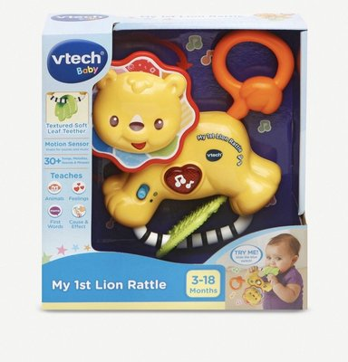 英國VTECH My First Lion rattle寶寶旋律(預購)