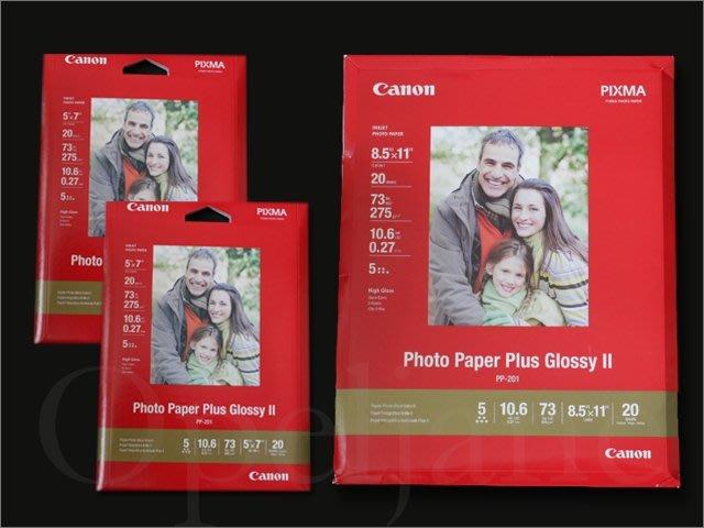 佳能 CANON Photo 5x7 20張共兩盒 +免費送Letter 20張近A4超光亮面彩色噴墨相片紙列印紙