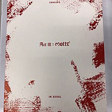 G-DRAGON 2017 WORLD TOUR CONCERT ACT III MOTTE IN SEOUL 2DVD