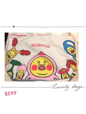 心妍~KOBITOS 農場物語 醜比頭隨身袋托特包