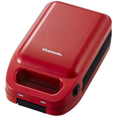 [日本代購] Vitantonio 厚燒熱壓三明治機 紅色 VHS-10B-TM / 白色 VHS-10-EG