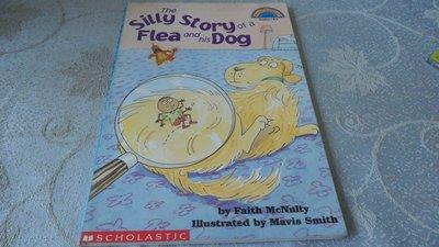 【兩手書坊】D1英文童書~THE SILLY STORY OF A FLEA AND HIS DOG