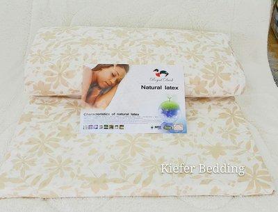 A級雙人5*6.2 純天然乳膠床墊.厚度5公分 專櫃品牌 Royal Duck皇室鴨