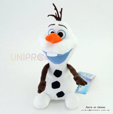 【UNIPRO】冰雪奇緣 FROZEN 雪寶19公分 絨毛玩偶 娃娃 迪士尼正版授權