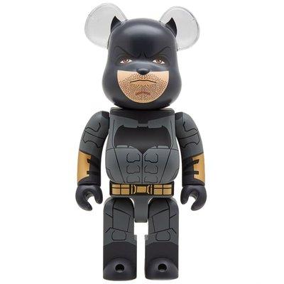 ~克莉絲丁時尚衣櫥~ BE@RBRICK 蝙蝠俠聯名限量1000%公仔熊