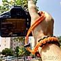 橙子的店 手工創意傘繩編制相機腕繩編織腕帶...
