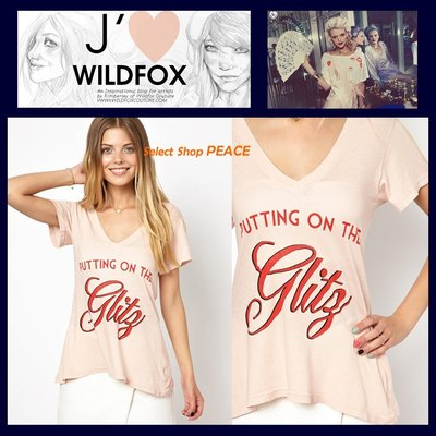 Wildfox Couture 美國【現貨↘打7折】XS號 T恤 Put on the Glitz