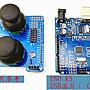已裝程式及提供原始碼 全套裝 4自由度meArm機械手臂 Arduino UNO開發板+搖桿板+伺服馬達+壓克力手臂散件