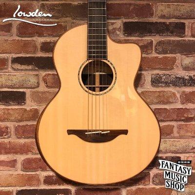 【奇想樂器】愛爾蘭 Lowden S35C-12 fret 手工高階民謠吉他