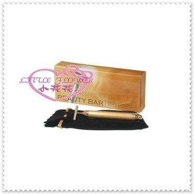 ♥ 小公主日本精品♥ 日本製 Beauty Bar 24K 黃金美容棒 離子美容棒 電動美顔器66625001