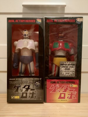 Medicom Toy Real Action Hero 三一萬能俠 Getter-1 & 訓練機